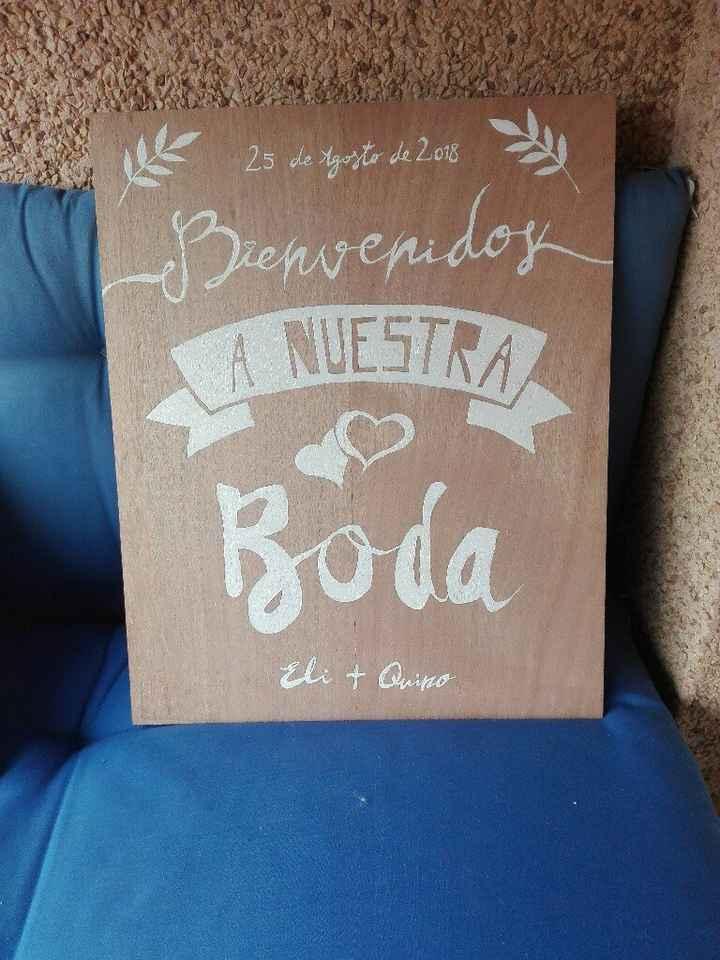 Mi cartel de Bienvenida - 2