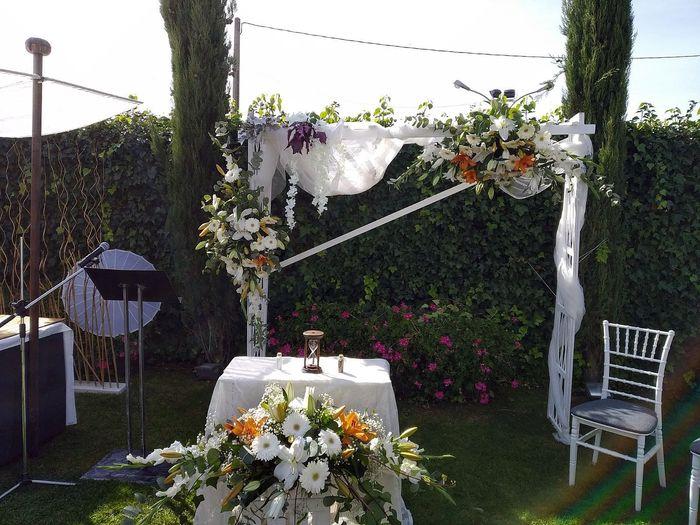 Decoración boda civil 2