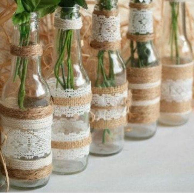 Diseña las mesas de boda: los centros de mesa 2