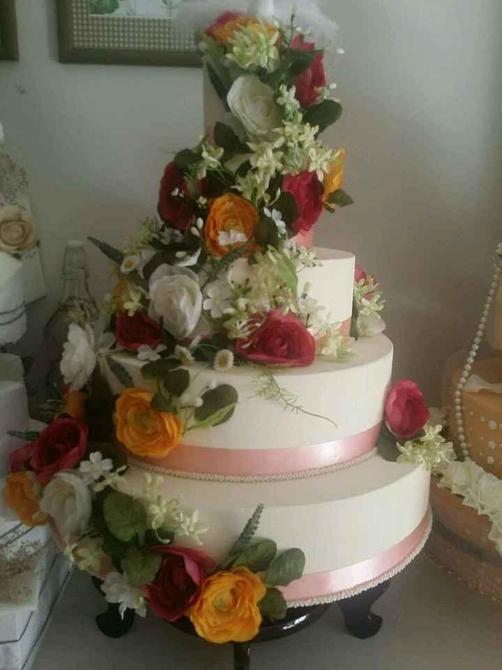 Super tarta falsa para boda - 1