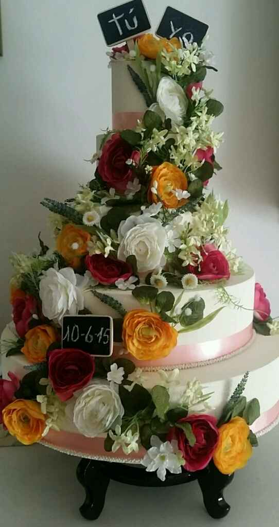 Tarta de boda falsa - 1