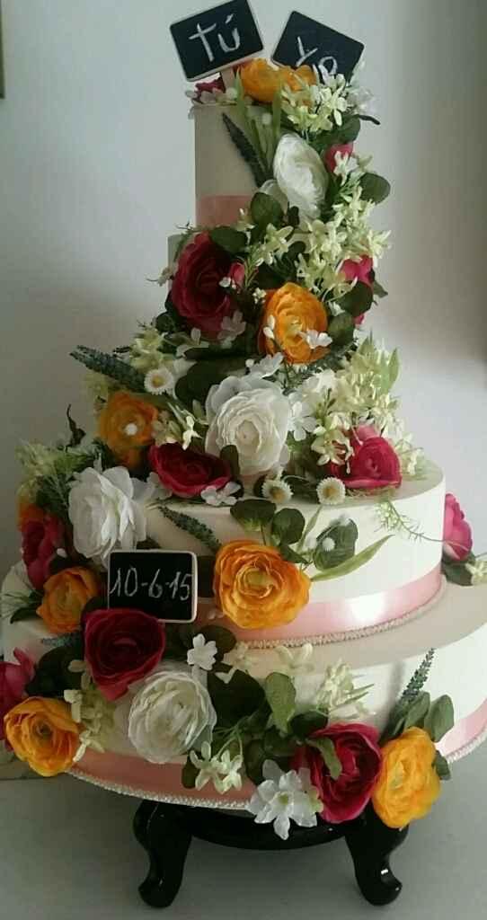 Nuestras tartas de boda! - 2