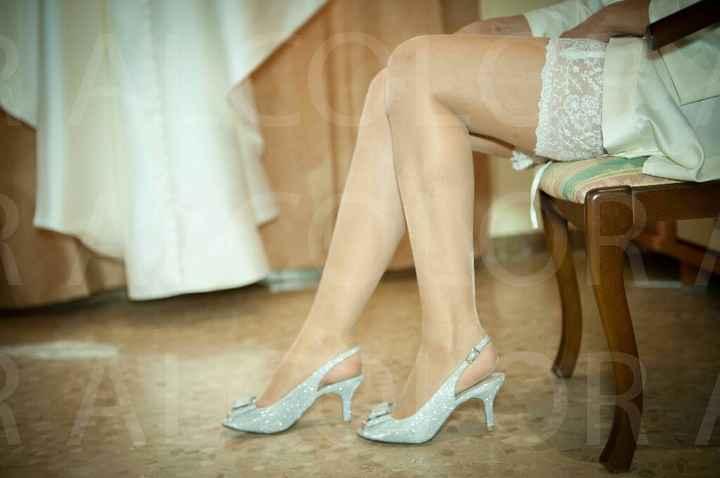 Zapatos de novia que no son blancos - 1