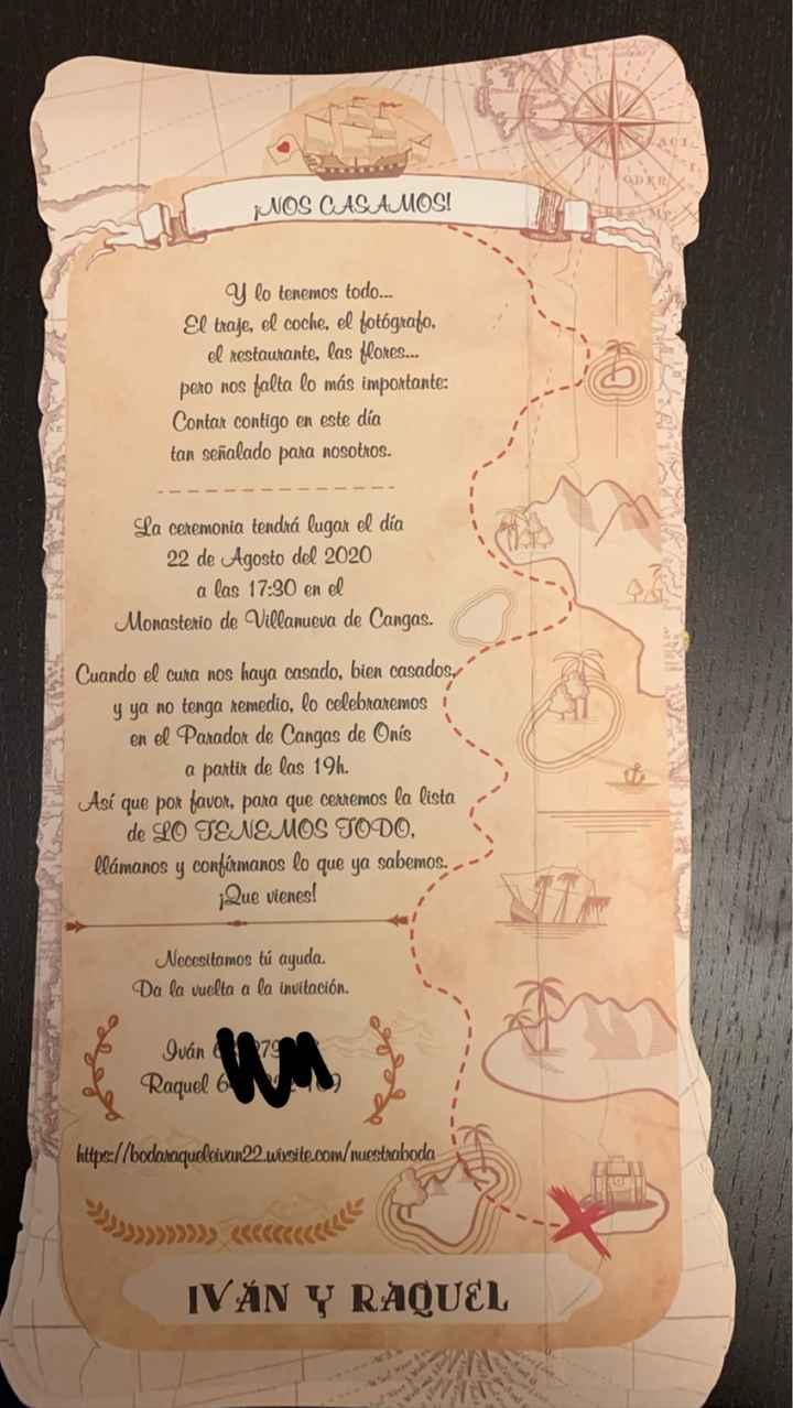 Nuestras invitaciones - 1