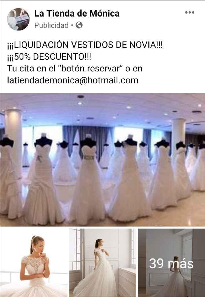 Vestidos de novia al 50% Madrid - 1