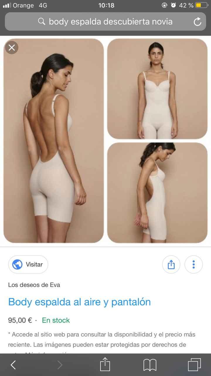 Body espalda descubierta barato!! - 1