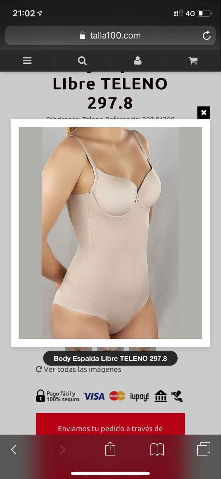 Por fin ropa interior (body escote espalda) - 2