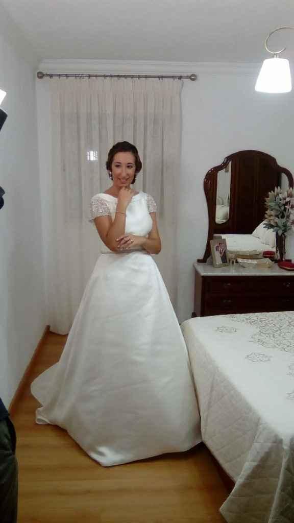 Vestidos de novia en rosa palo - 2
