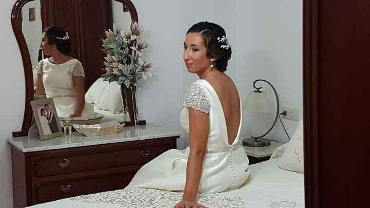 Vestidos de novia en rosa palo - 3