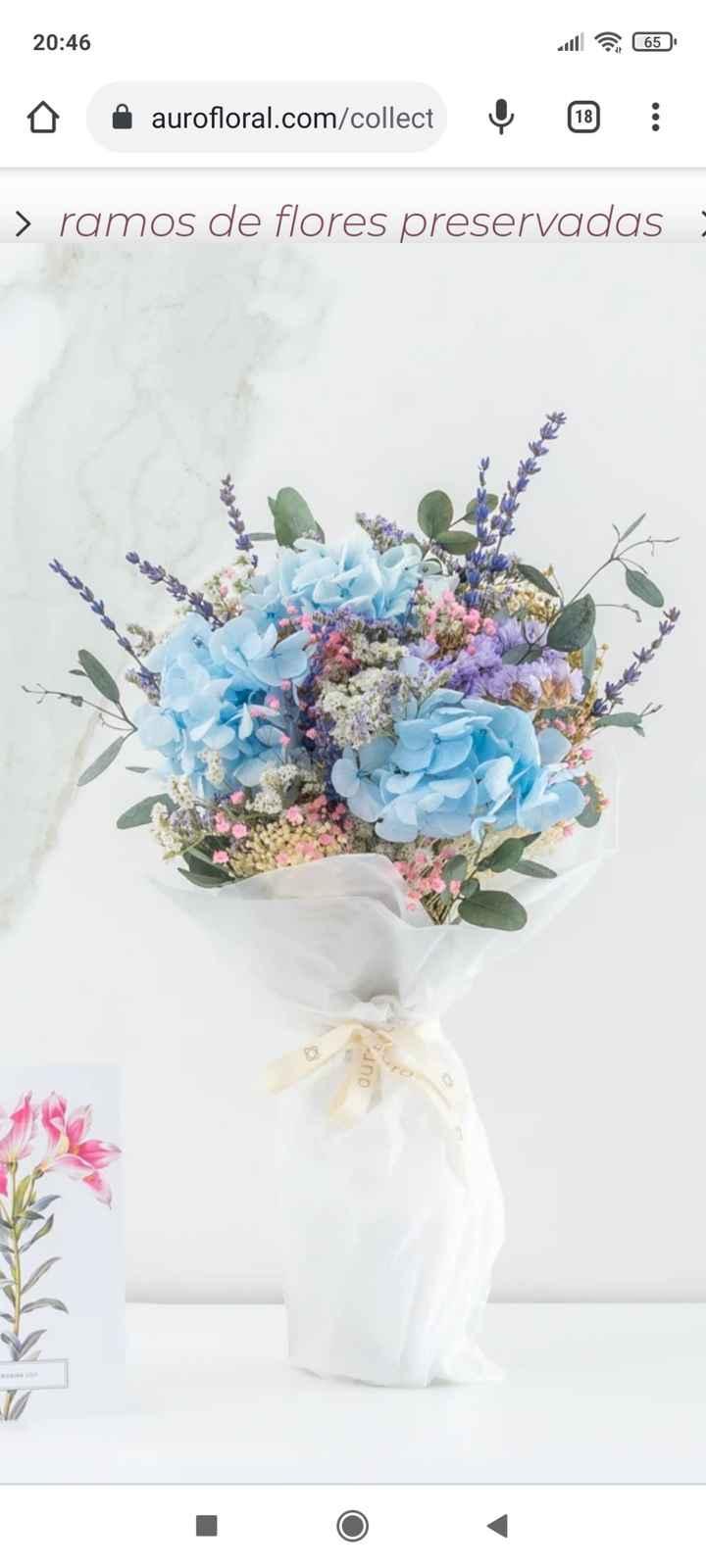 Dudas ramos de novia - 2