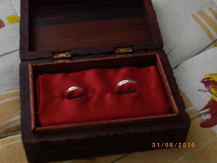 cajita con anillos