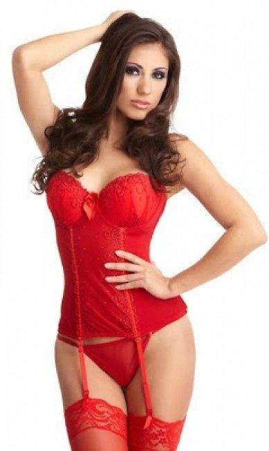 Ropa interior novia roja moda nupcial foro for Ropa interior novia la perla