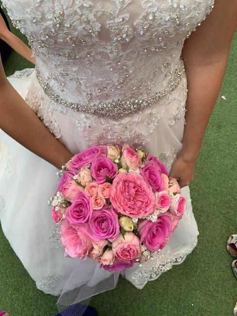 Ramos de novia en tonos rosas 🌸🌷🌺 - 1