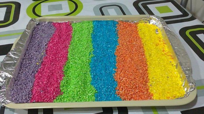 Mi arroz de colores!