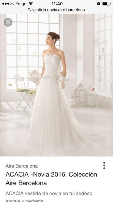 2d720bade Vestido de novia acacia - Moda nupcial - Foro Bodas.net
