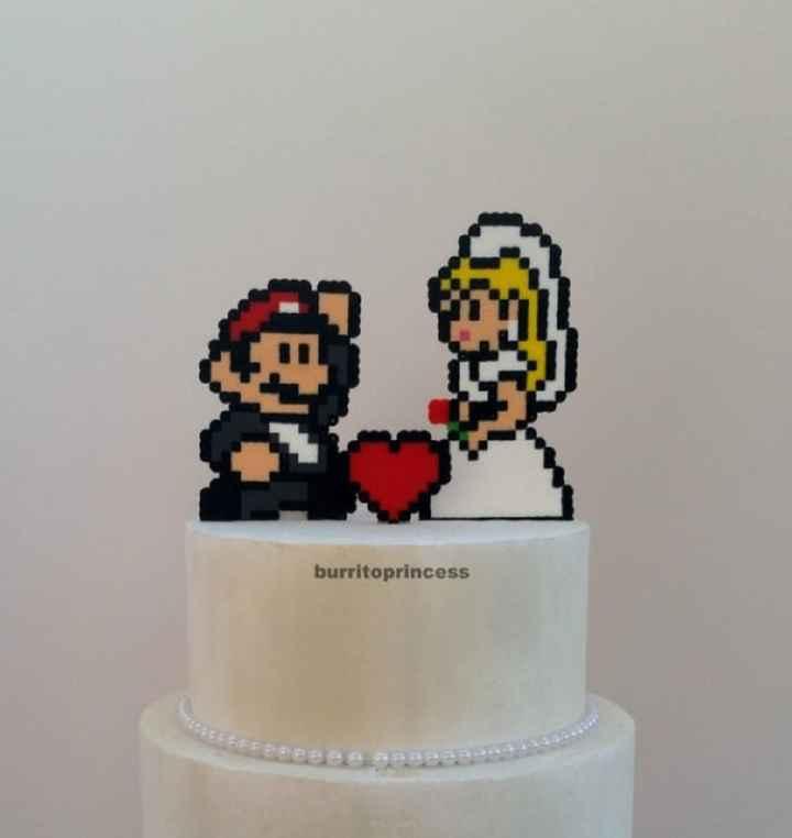 ¿Qué os parece este cake topper? - 1
