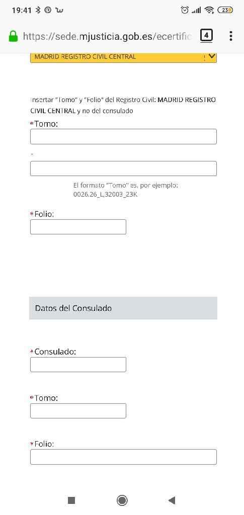 Certificado de nacimiento - 1