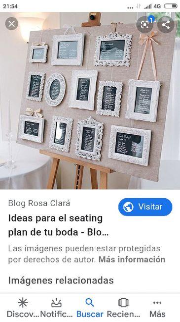Ideas para el seating plan 8