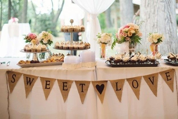Ideas para boda estilo romantico vintage organizar for Ideas para decorar mesa de dulces