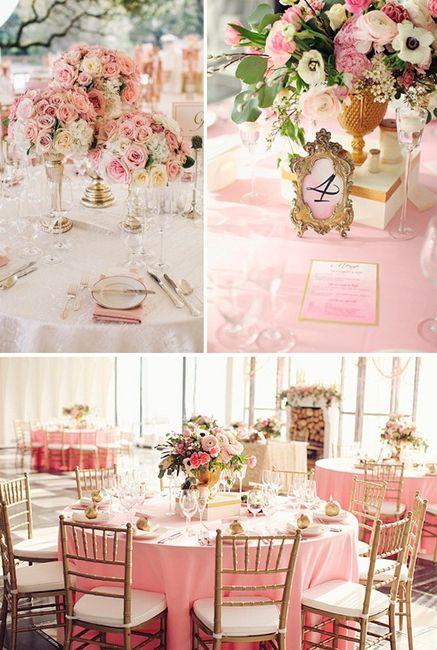 Ideas para boda estilo romantico vintage organizar - Decoracion de salones estilo romantico ...
