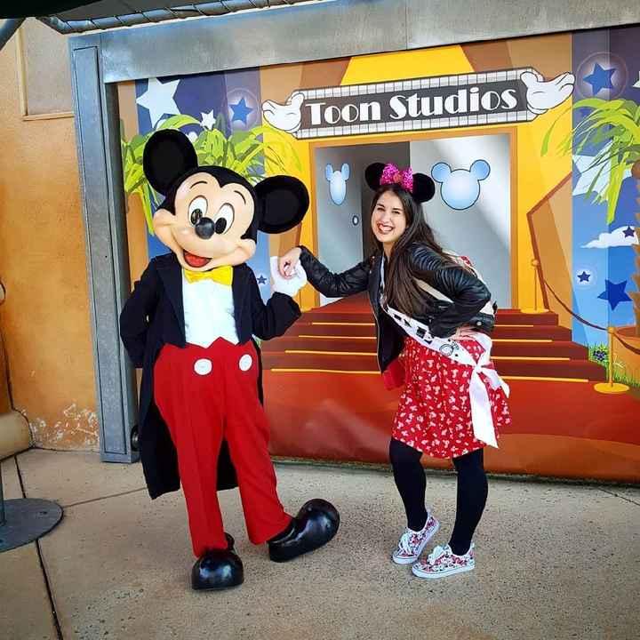 Mi primera despedida en Disney, Increible! 😍👰🏻 - 3
