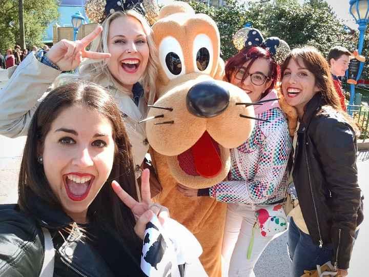 Mi primera despedida en Disney, Increible! 😍👰🏻 - 4