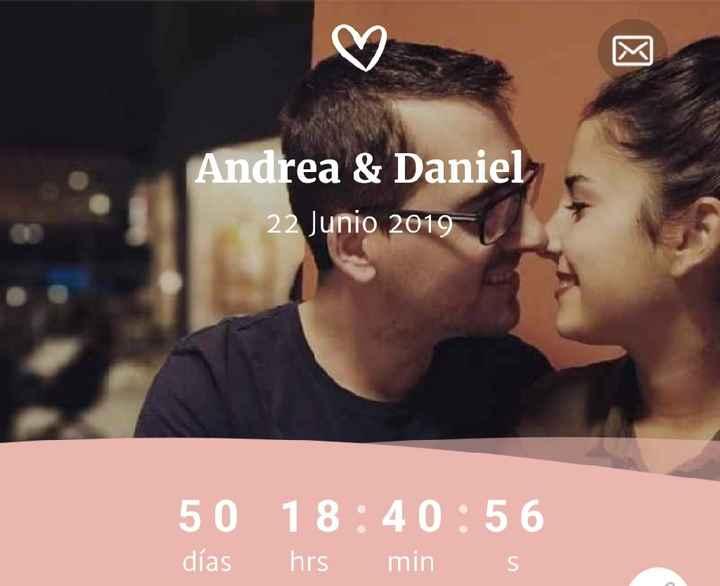 Estamos a 50 días!! #22dejunio2019 ❤ - 1