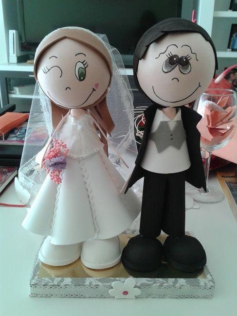 Los muñecos de la tarta de las ya casadas!! - 1