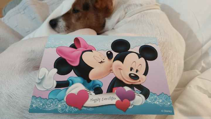 Invitacion Mickey y Minnie - 2