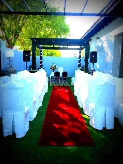 Mi ceremonia de boda