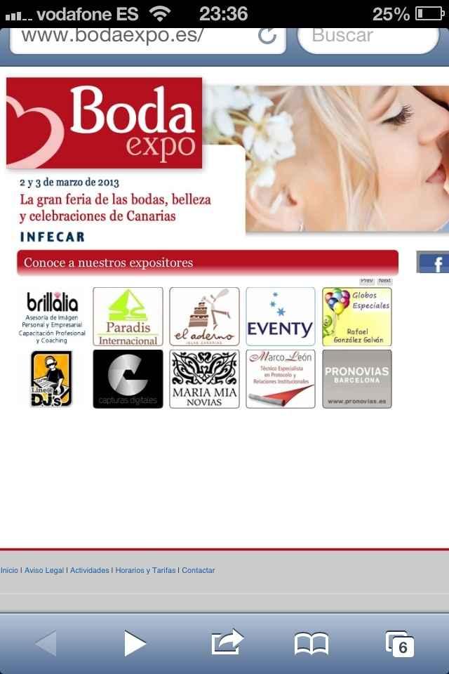 Tercera tanda de empresas Expo boda