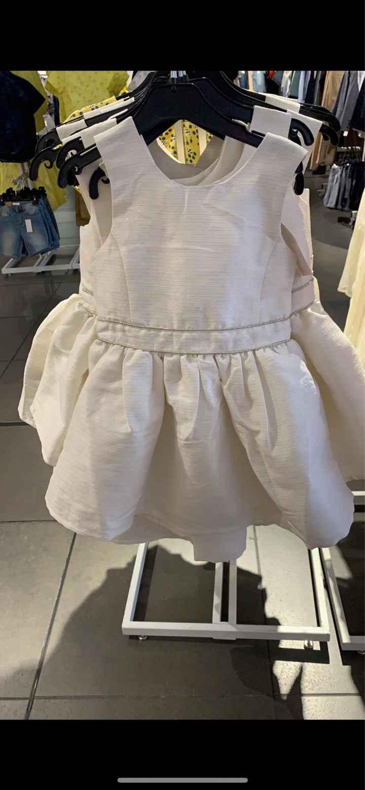 Vestido de la niña de los anillos - 1