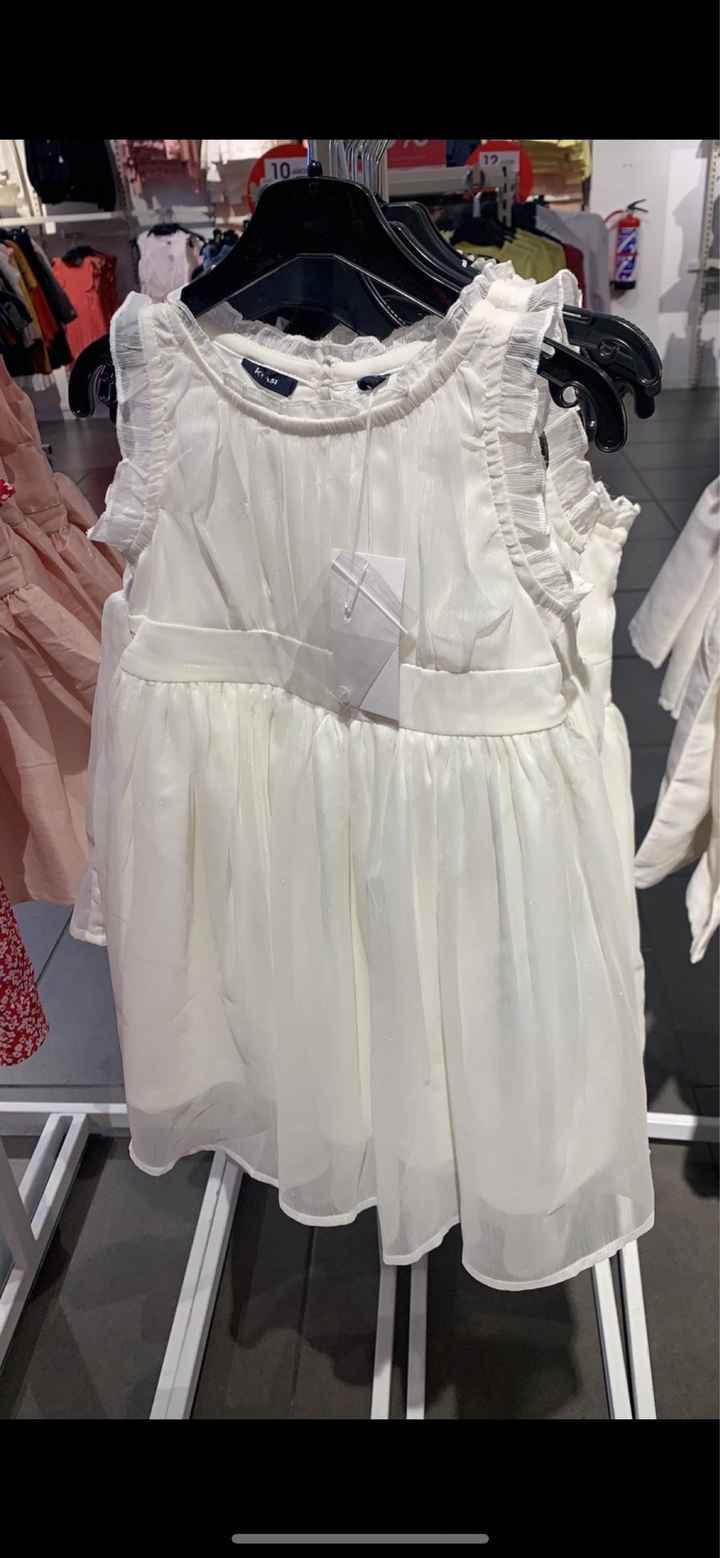 Vestido de la niña de los anillos - 2