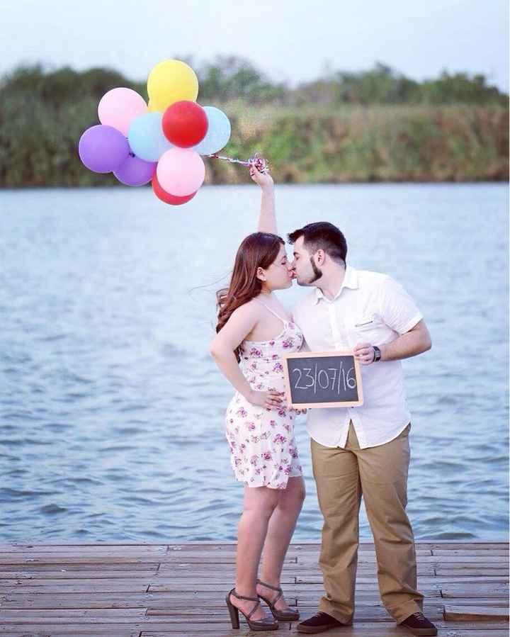 Nuestras fotos pre boda/ pro invitaciones - 1