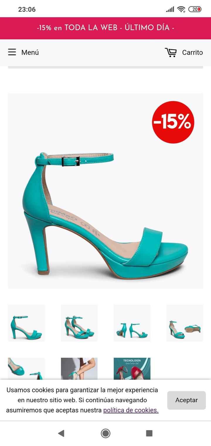 Zapatos de novia de colores 9