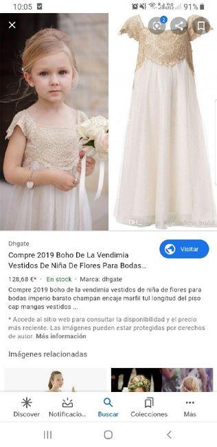 Vestidos Damitas de Honor - 2