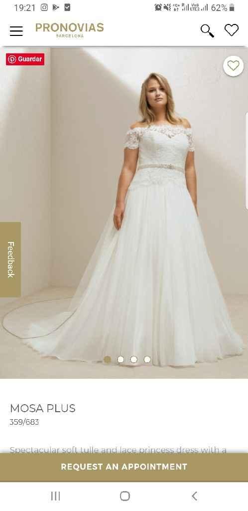 ¿Sabéis cómo encontrar un vestido de Pronovias? - 1
