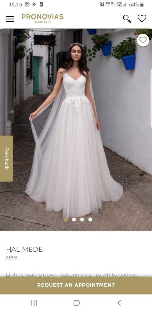 ¿Sabéis cómo encontrar un vestido de Pronovias? - 2