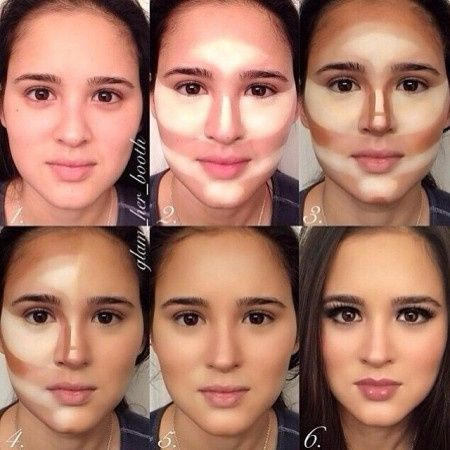 Contourning and highlighting