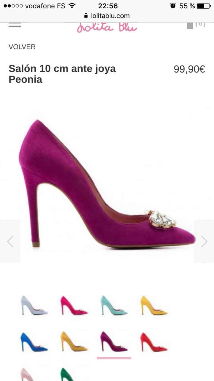 Mis zapatos a 30 días de la boda! - 1