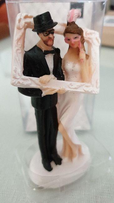 Figuras de novios para la tarta - 1