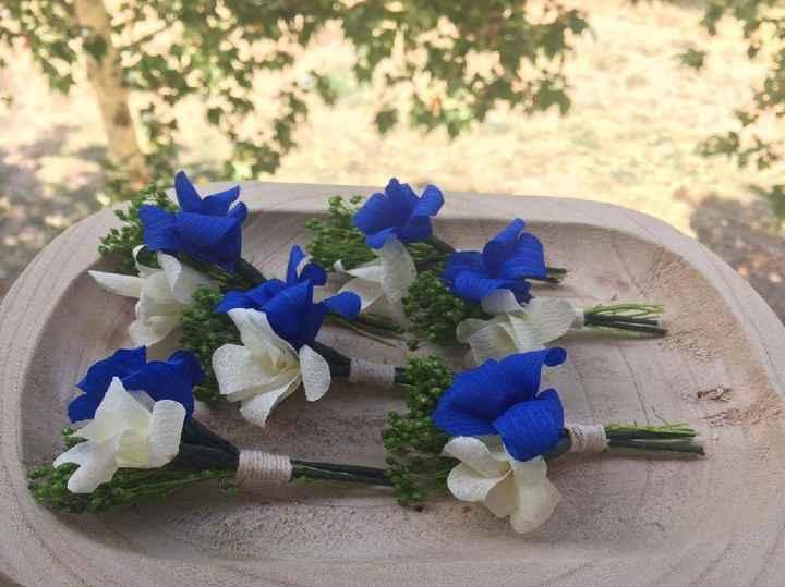 Mis flores de papel y preservadas - 3