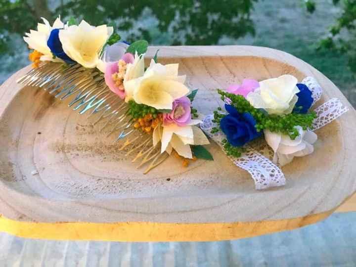 Mis flores de papel y preservadas - 5