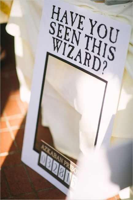 Boda mágica estilo Harry Potter 10