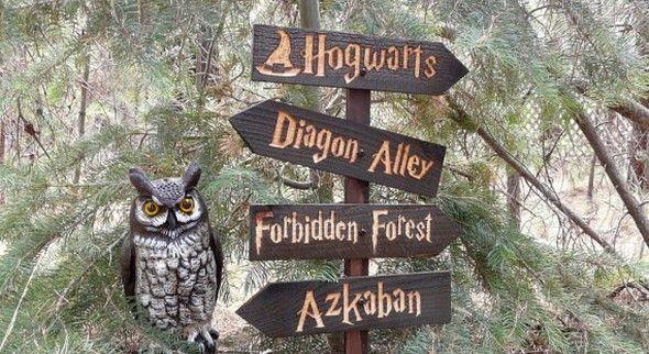 Boda mágica estilo Harry Potter 21