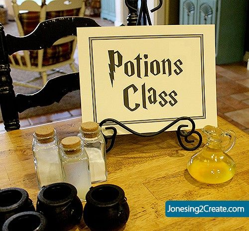 Boda mágica estilo Harry Potter 30