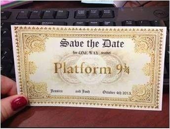 Boda mágica estilo Harry Potter 34
