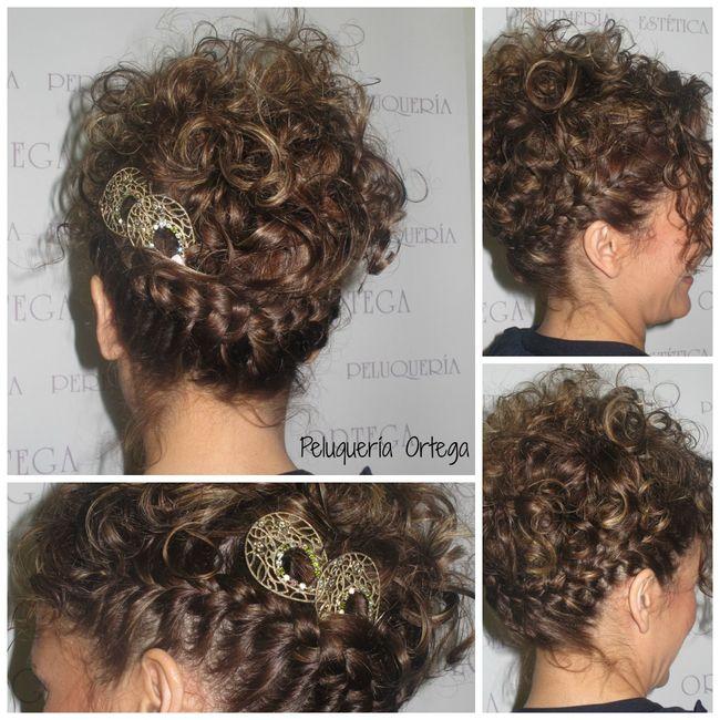 De bajón con la peluquería. Ayuda pelo rizado 😩!! 16