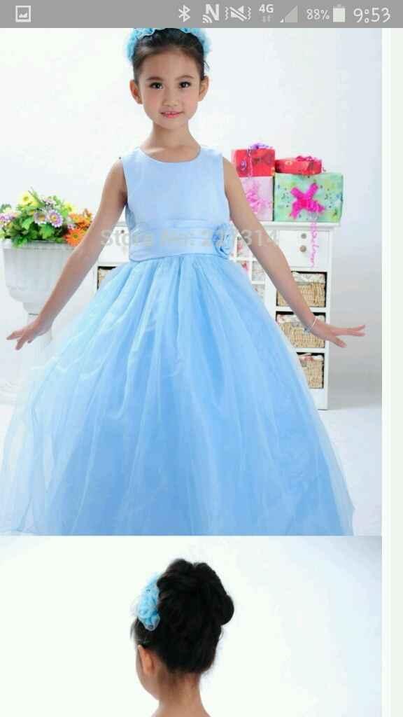 Comprar vestidos para damitas de honor - 1