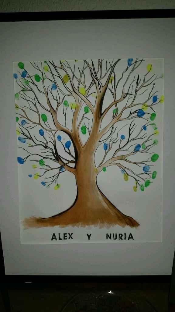 Mi árbol de huellas - 1